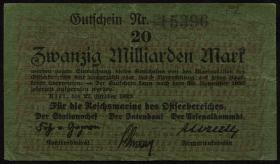 Mil-07b Reichsmarine Ostseebereich 20 Milliarden Mark 1923 (3+)
