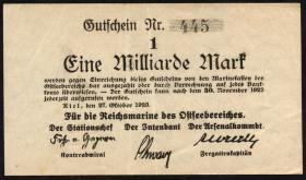 Mil-05x Reichsmarine Ostseebereich 1 Milliarde Mark 1923 (2)