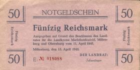 Miltenberg Notgeld 50 Reichsmark 1945 (2)