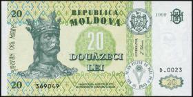 Moldawien / Moldova P.13d 20 Lei 1999 (1)