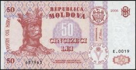 Moldawien / Moldova P.14d 50 Lei 2006 (1)