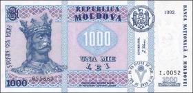 Moldawien / Moldova P.18 1000 Lei 1992 (2003) (1)