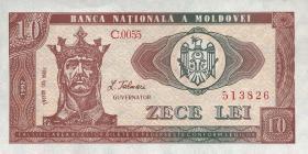 Moldawien / Moldova P.07 10 Lei 1992 (1)