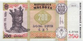 Moldawien / Moldova P.neu 200 Lei 2015 (2019) (1)