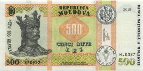 Moldawien / Moldova P.neu 500 Lei 2015 (2019) (1)
