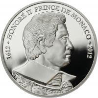 Monaco 10 Euro 2012 Fürst Honore II.