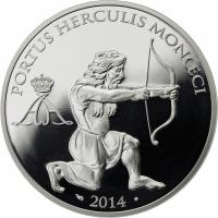 Monaco 10 Euro 2014 Herkules (Auflage nur 3000)