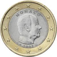 Monaco 1 Euro 2007