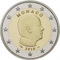 Monaco 2 Euro 2010 Fürst Albert II.