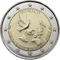 Monaco 2 Euro 2013 Vereinte Nationen stgl