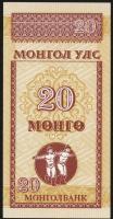 Mongolei / Mongolia P.50 20 Mongo (1993) (1)