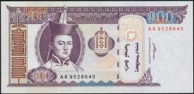 Mongolei / Mongolia P.65b 100 Tugrik 2008 (1)