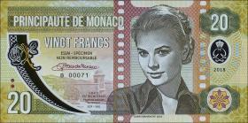 Monaco 20 Francs 2018 Grace Kelly (1)