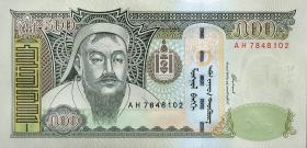 Mongolei / Mongolia P.66a 500 Tugrik 2003 (1)