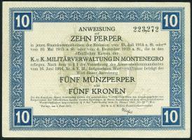 Montenegro P.M151 10 Perper 1917 (2+)