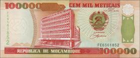 Mozambique P.139 100.000 Meticais 1993 (1)
