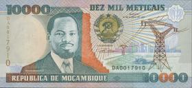Mozambique P.137 10000 Meticais 1991 (1)