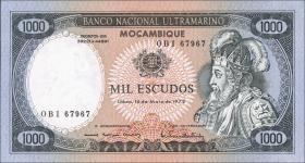 Mozambique P.112b 1000 Escudos 1972 (1)