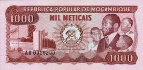 Mozambique P.128 1000 Meticais 1980 (1)