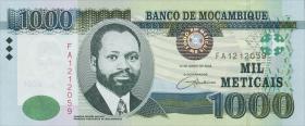 Mozambique P.148 1000 Meticais 2006 (1)