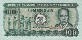 Mozambique P.126 100 Meticais 1980 (1)