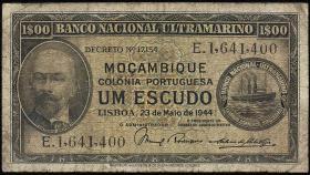 Mozambique P.092 1 Escudo 1944 (4)