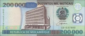 Mozambique P.141 200.000 Meticais 2003 (2004) (1)