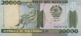 Mozambique P.140 20000 Meticais 1999 (1)