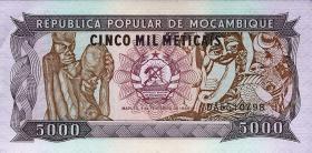 Mozambique P.133 5000 Meticais 1989 (1)