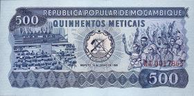 Mozambique P.127 500 Meticais 1980 (1)