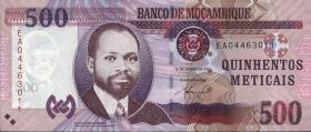 Mozambique P.153a 500 Meticais 2011 (1)
