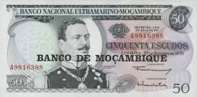 Mozambique P.116 50 Escudos (1976) (1)