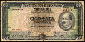 Mozambique P.102 50 Escudos 1950 (4)