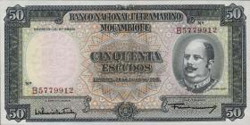 Mozambique P.106 50 Escudos 1958 (1)