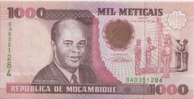 Mozambique P.135 1000 Meticais 1991 (1)