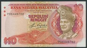 Malaysia P.21 10 Ringgit (1983-84) (2+)