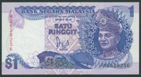 Malaysia P.27b 1 Ringgit (1989) (1)