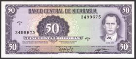 Nicaragua P.130 50 Cordobas 1978 (1)