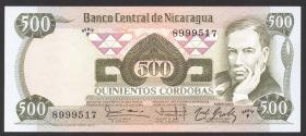 Nicaragua P.142 500 Cordobas L.1984 (1)