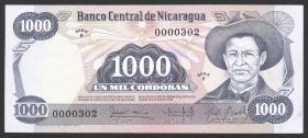 Nicaragua P.143 1000 Cordobas L.1984 (1)