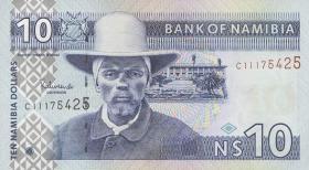 Namibia P.04b 10 Dollars (2001) (1)