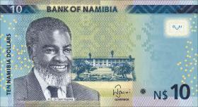 Namibia P.11c 10 Namibia Dollars 2015 (1)