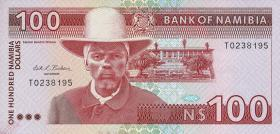 Namibia P.03 100 Dollars (1993) (1/1-)