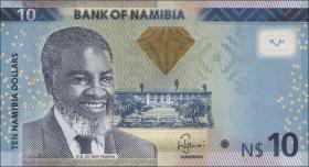 Namibia P.11a 10 Namibia Dollars 2012 (1)