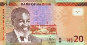Namibia P.12c 20 Namibia Dollars 2015 (1)