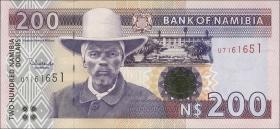 Namibia P.10b 200 Namibia Dollars (1996) (1)