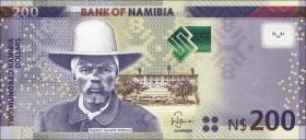 Namibia P.15 200 Namibia Dollars 2012 (1)