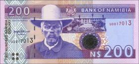 Namibia P.10a 200 Namibia Dollars (1996) (1)