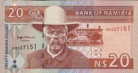 Namibia P.05 20 Dollars (1996) (1)