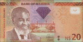 Namibia P.12a 20 Namibia Dollars 2011 (1)